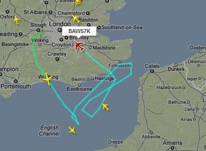 Flugrouten Mit Online Flugradar Beobachten Mapsblog De