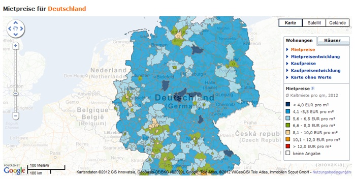 Immobilien Maps