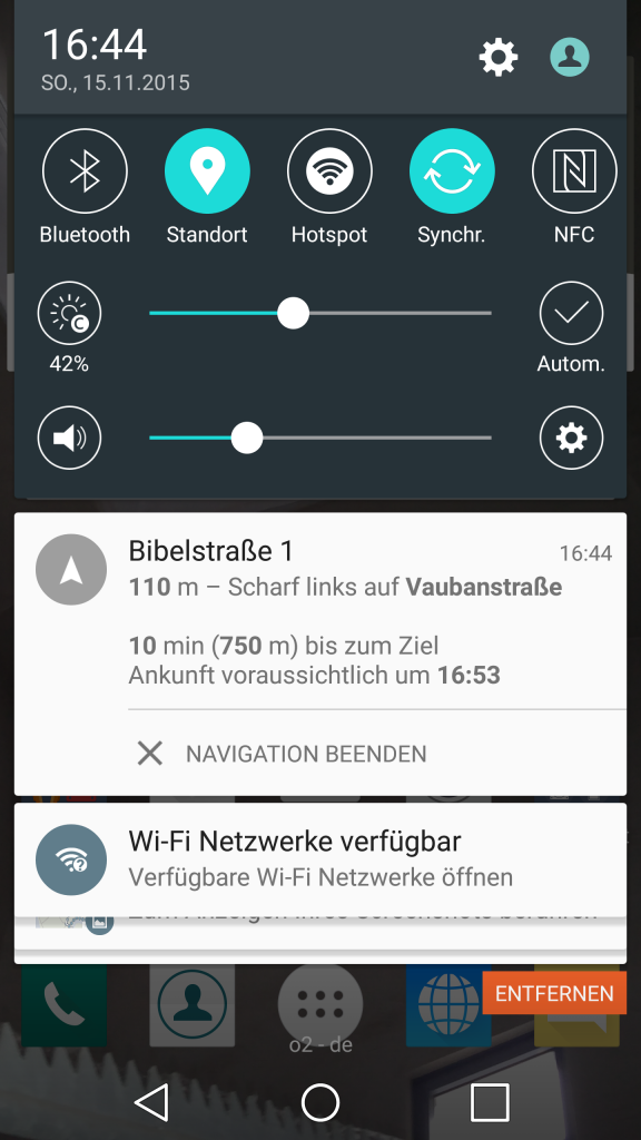 Google Maps Notiz