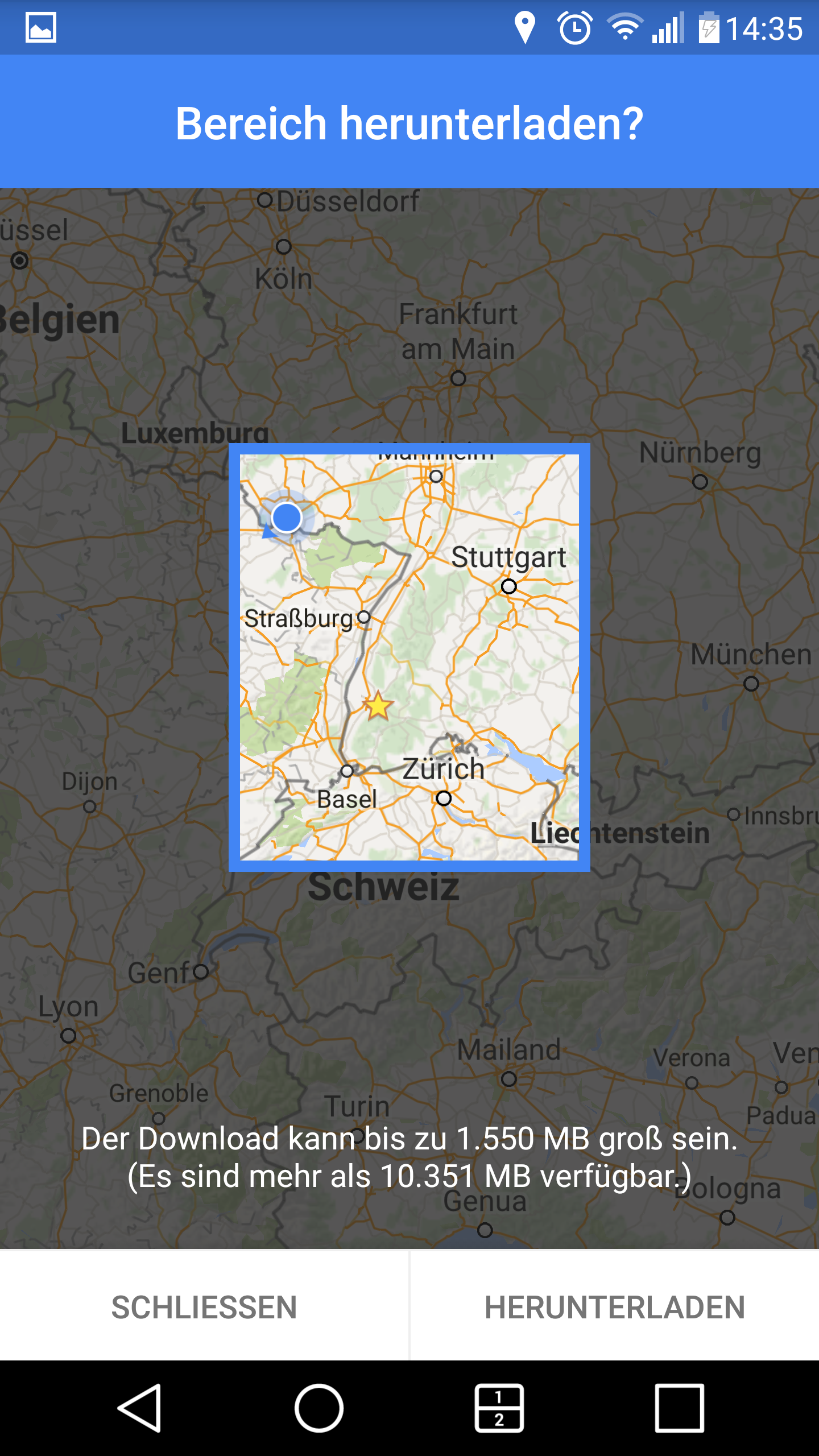 Offline-Karten in der Google Maps App speichern | MapsBlog.de on