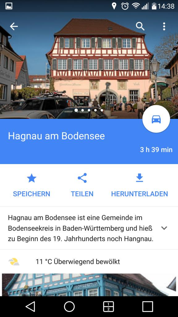 Offline-Maps herunterladen